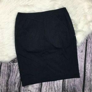 Worthington Pin Stripe Pencil Skirt Size 8